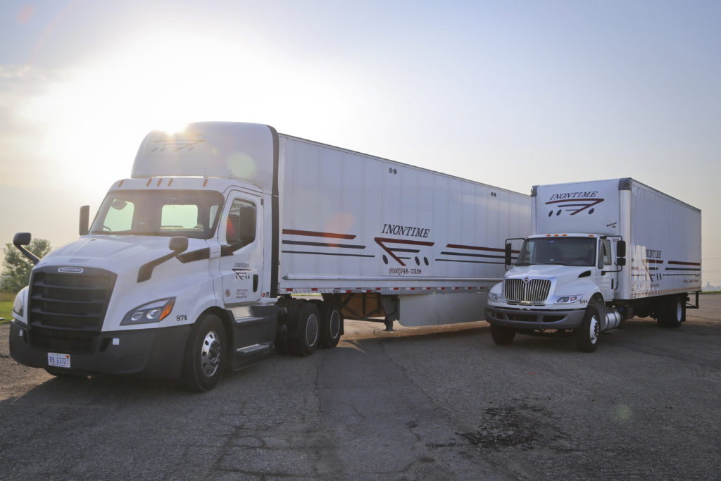 InOnTime | West Michigan Trucking and Warehousing Solutions